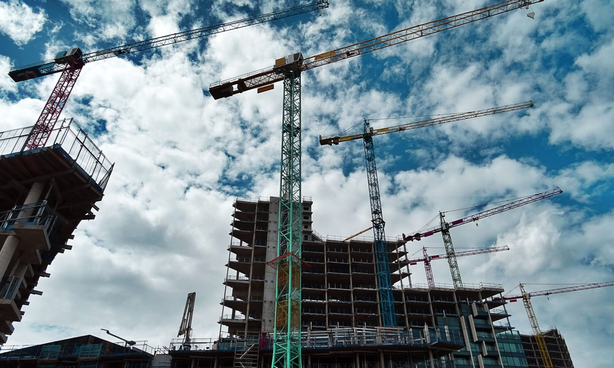Convention center building on the rise