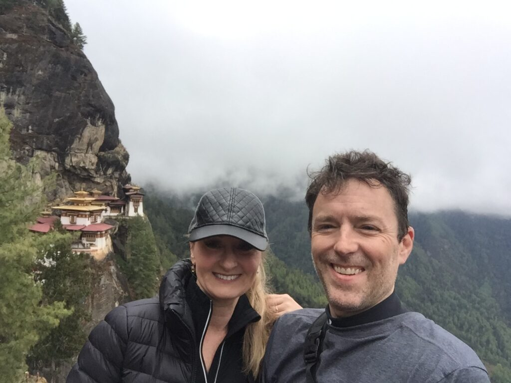 The Tiger's Nest - a must-see visiting Bhutan
