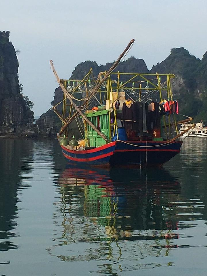 Travel to Vietnam: fascinating boats on Halong Bay