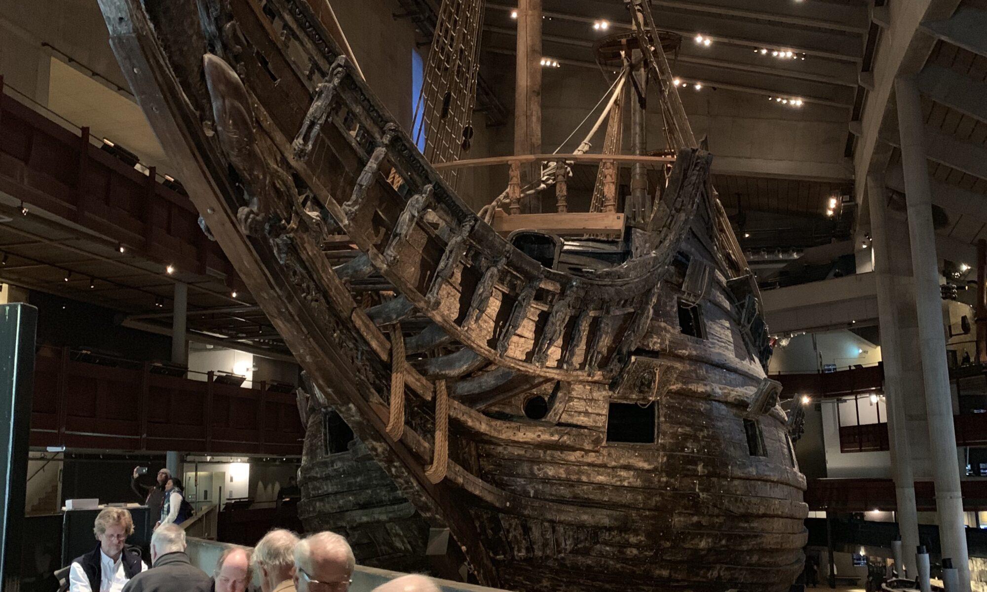 Vasa Museum: visit to Sweden