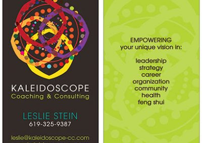 coaching business cards