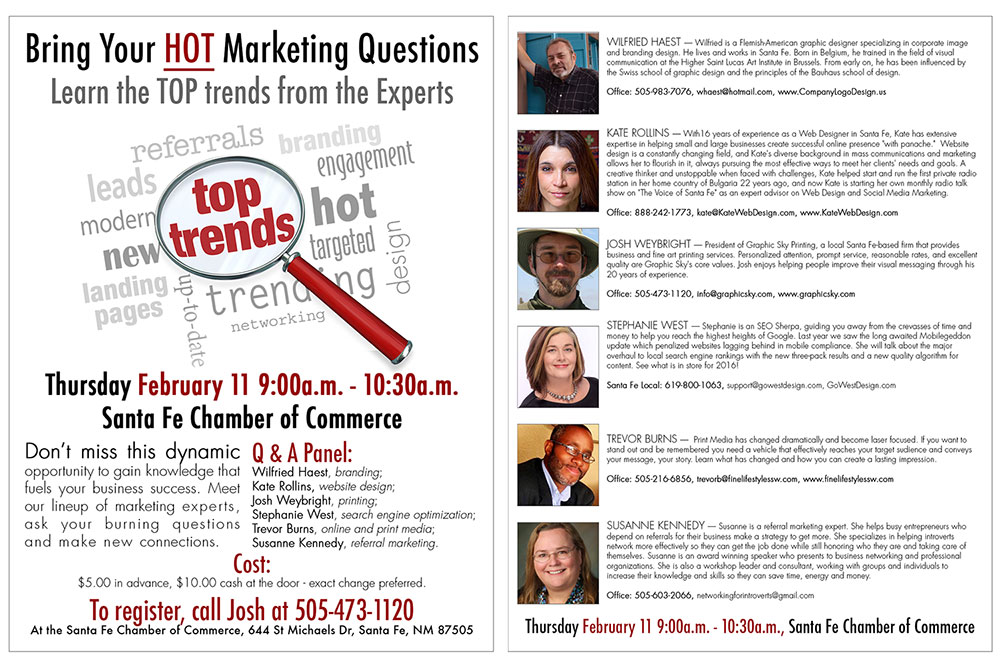 Panel of Marketing Experts