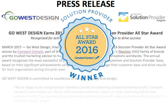 press release - all star award