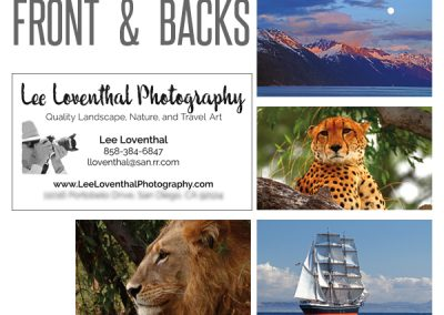 business cards for photographers