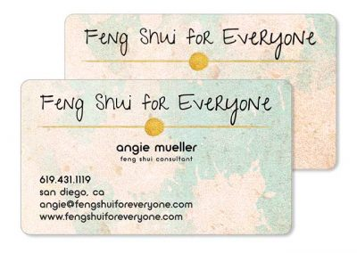 Feng Shui business cards