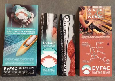 rackcards and bookmarks