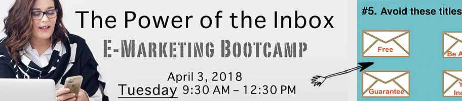 The Power of the Inbox E-Marketing Bootcamp