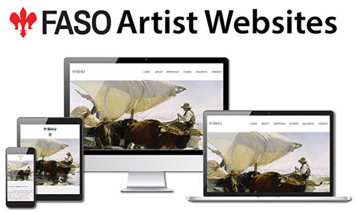 Websites for Artists FASO