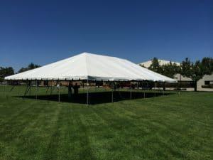 40x70 Tent at a church