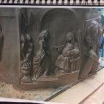 Relief sculptures, narratives