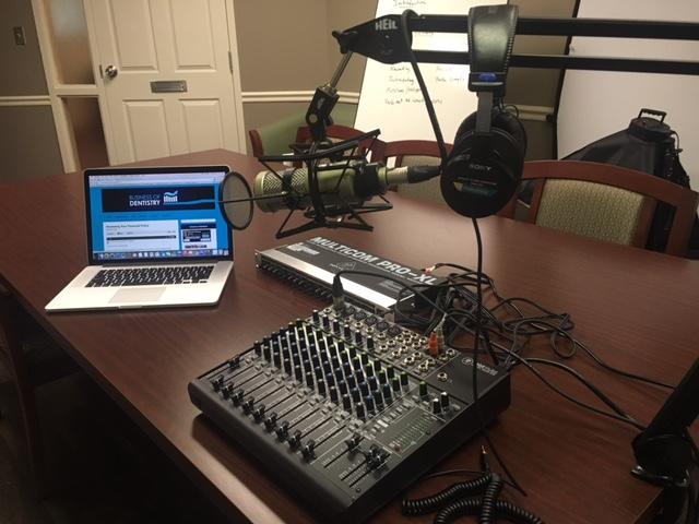 Podcast-Studio-Setup