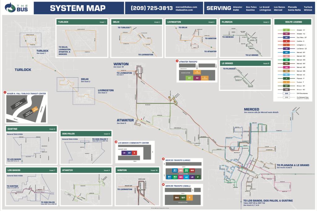Transit System Map