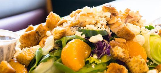 Pecan Chicken Chef Salad