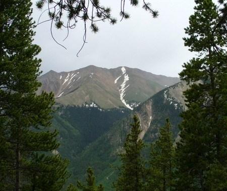 Mount Elbert Black Cloud