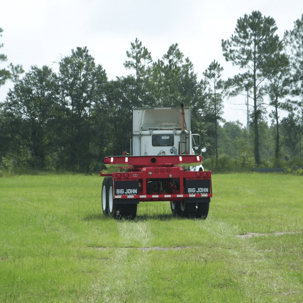 1 Pole PipeTrailer - Steerable Extendable