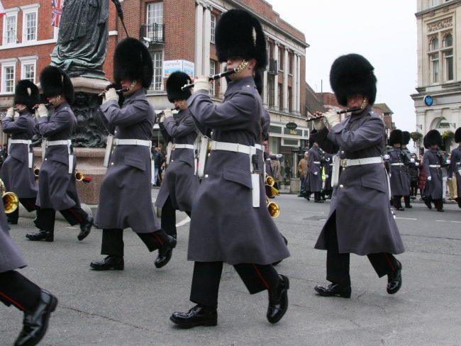 Windsor Castle Change of Guards