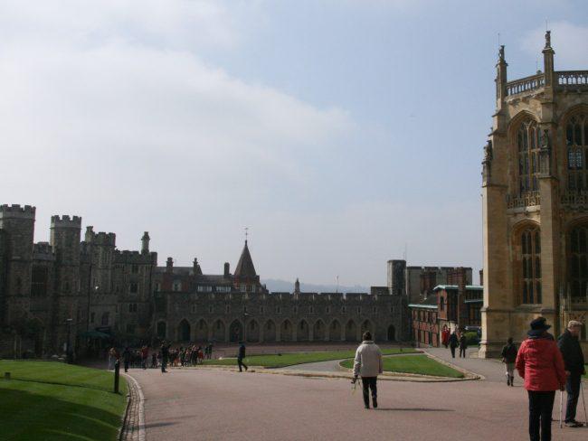 Windsor Castle The Lower Ward