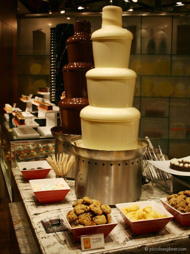 Dessert Table at the Circles Event Cafe, Makati Shangri-La Manila
