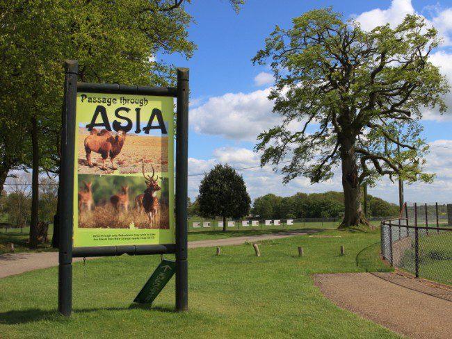 Entrance to Passage Through Asia