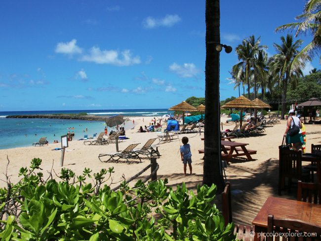 View from Ola at Turtle Bay Resort North Shore Oahu