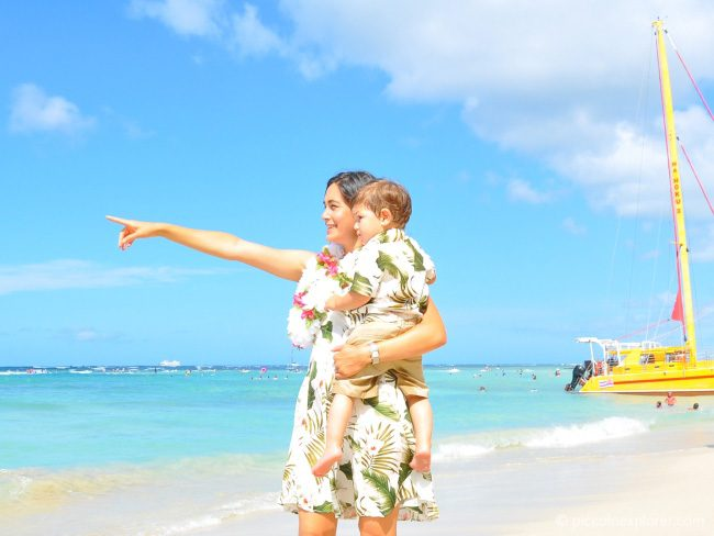 Tips for visiting Waikiki with a toddler
