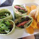 Vegetable Wrap at Moana Surfrider Waikiki Beach Bar
