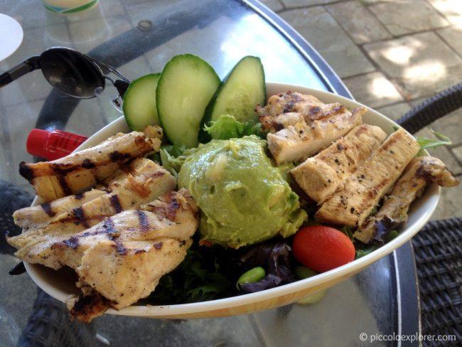 Pipukaula Cobb Salad at Moana Surfrider Beach Bar