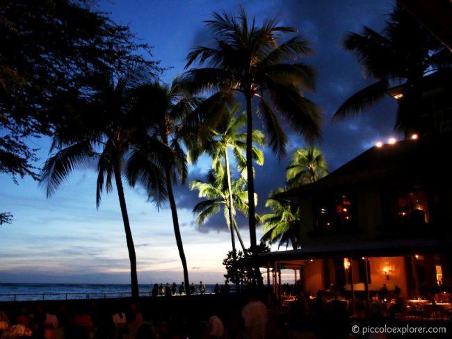 Beachfront Restaurants in Waikiki - View at House without a Key at Halekulani Hotel
