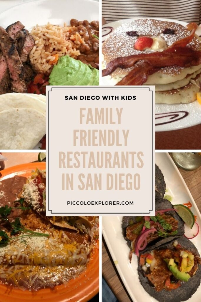 Family Friendly San Diego Restaurants