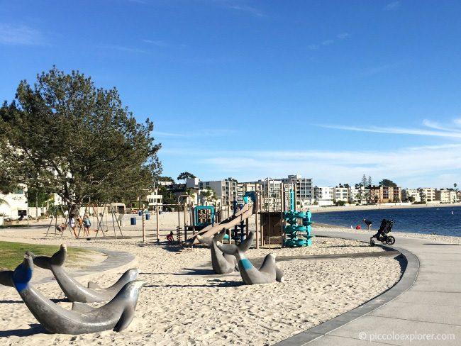 Fanuel Street Playground, Pacific Beach, San Diego