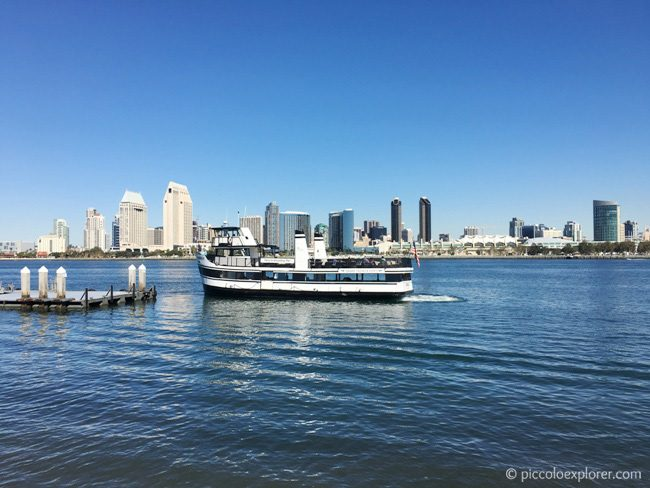 View of Downtown San Diego from Coronado Island
