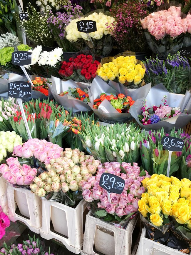 Wheelers of Turnham Green flower stand