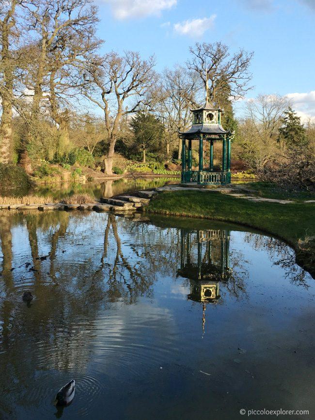 Water Garden at Cliveden National Trust