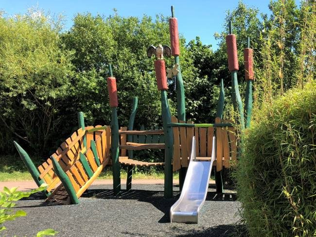 Toddler playground at London Wetland Centre