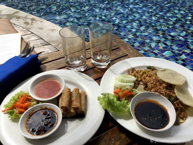 Mie goreng at Padma Resort Legian