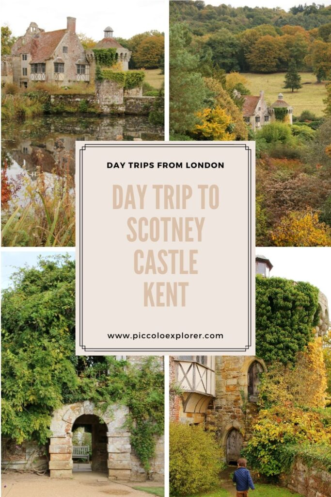 Day Trip to Scotney Castle Kent