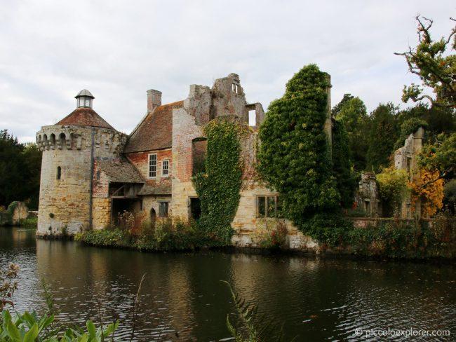 National Trust Scotney Castle Kent