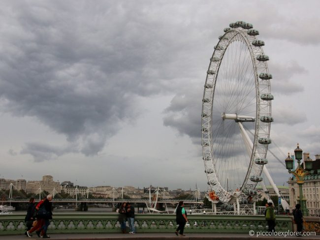 London Eye, South Bank London