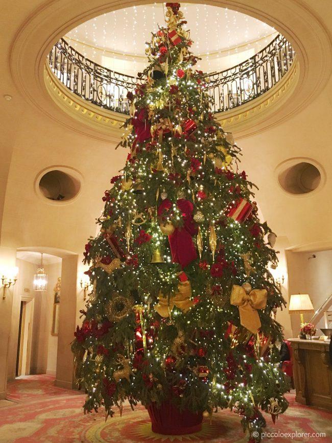 The Ritz London at Christmas