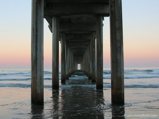 Scripps Pier at Sunrise, La Jolla, CA