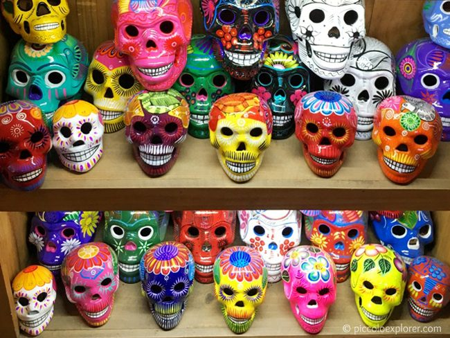 Skulls at Old Town San Diego
