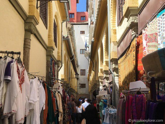 Mercado de Artesania, Granada