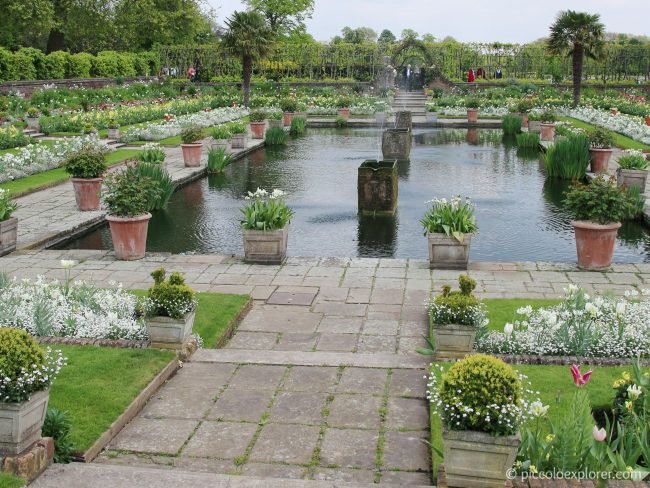 Kensington Palace White Garden