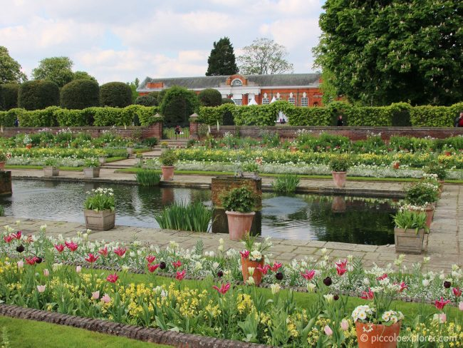 Kensington Palace White Garden London