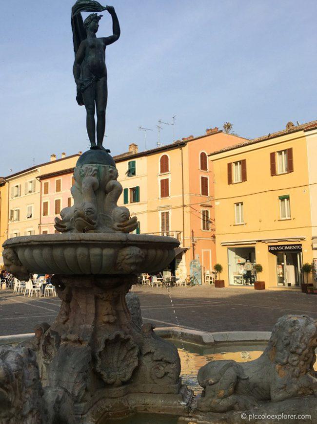 Fontana della Fortuna, Fano, Italy