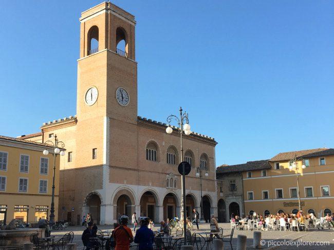Piazza XX Settembre, Fano, Italy