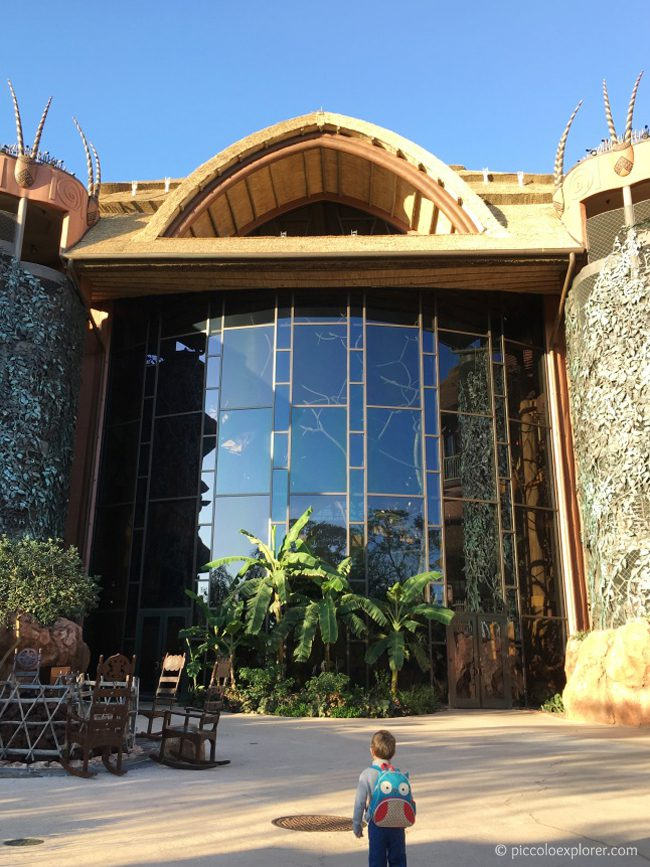 Animal Kingdom Lodge, Orlando, Florida