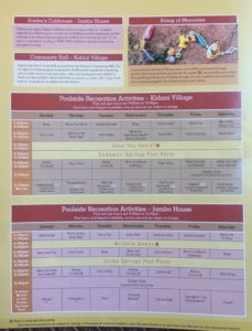 Activity Calendar - May 2017, Animal Kingdom Lodge, Orlando