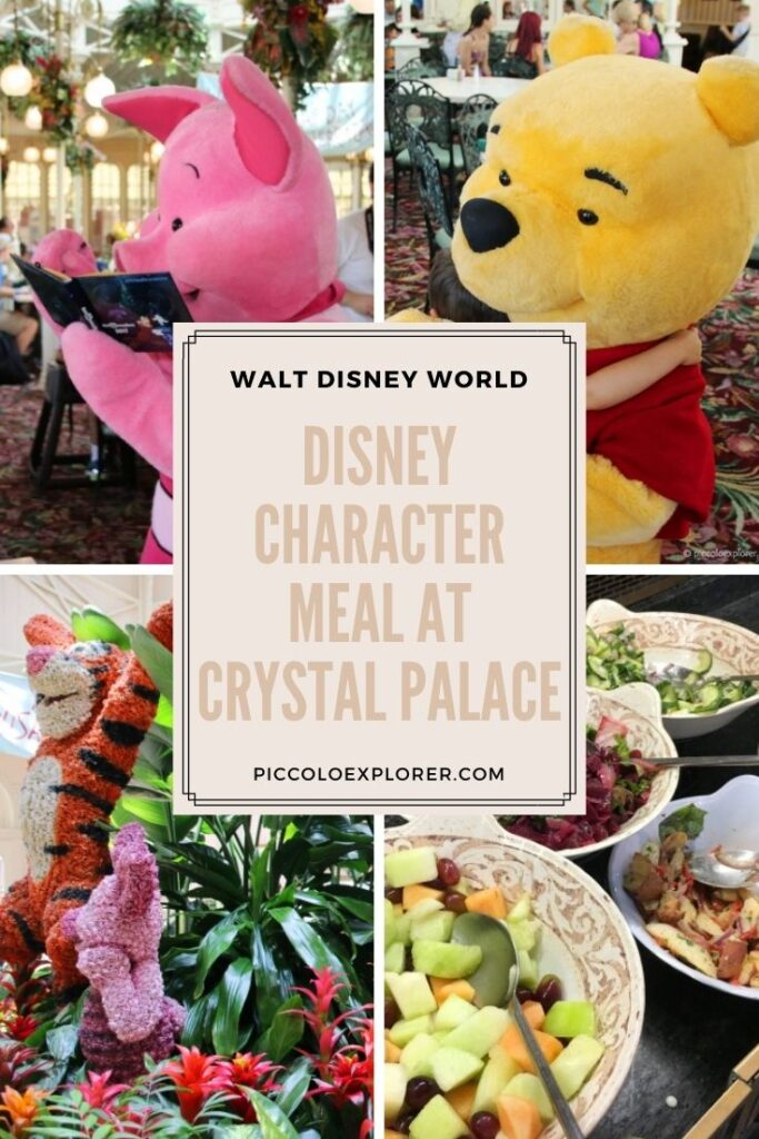 Crystal Palace Character Meal Review