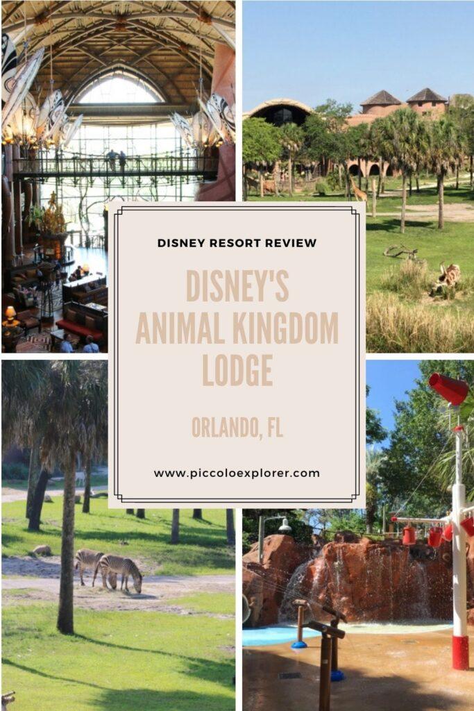 Disney Animal Kingdom Lodge review